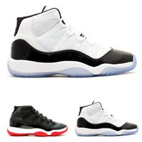Wholesale Shoes For Bigger Women - Plus size Retro XI 11s Bred concord basketball shoes for men and women white black red Basket boots sneaker bigger size 14 15 16