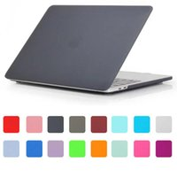 Wholesale Laptop Keyboard Protective - Macbook Pro Air Retina Matte Case for 11.6 12 13.3 15.4 inch Protective case with MacBook Colorful Shell Cover Keyboard Protector
