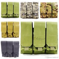 Wholesale Tactical Pouches Molle Pouches Triple Magazine Pouch Quick Release Buckles Tactical Bag Tool Pouch