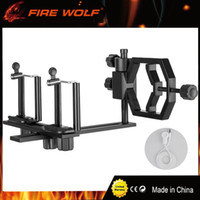 Wholesale hunt cameras - FIRE WOLF Universal Tripod Head Holder Support 54-83mm Mount Adapter Hunter Hunting Camera Camcorder Phone Attach Spotting Scope