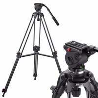 Wholesale Tripods For Video Dslr - JY0508A JIEYANG Camera Camcorder Tripod Professional for Video Stand   DSLR Video Tripod   Fluid Head Damping  1610mm Max Height