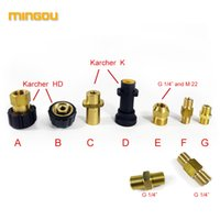 "Wholesale Gun Adapter - Foam Lance Adapter Wash Gun Fitting For Karcher K HD M 22 F1 4"" Adapter (MOEP015)"