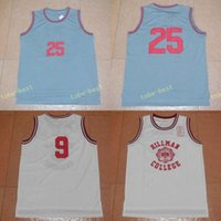 Wholesale Zack Morris - 2017 movie BAYSIDE #25 Zack Morris grey jersey basketball jerseys #9 WAYNE Hillman College white all stitched mix order