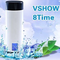 Wholesale Intelligent Water - Tritan Glass Eco-Friendly Smart Glass Anti Scalding Water Scalding+ PC Water Cup With Intelligent Function To Remind Water Canteen
