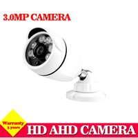 Wholesale Wholesale Cctv Systems Hd - NINI Hot HD 1920P IMX322 AHD-H System CCTV AHD Camera Outdoor Waterproof Small Metal Bullet IR 3MP Security Surveillance