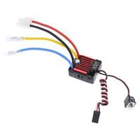 Wholesale Esc Controller - Wholesale- Hobbywing Quicrun Brushed Waterproof Motor ESC Controller 60A 1060 1 10 RC 52AA