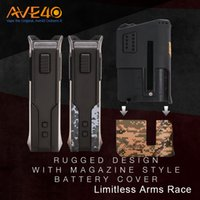 Wholesale Dual Arm - Limitless Arms Race 200W Box Mod Rugged and Sturdy Design Dual 18650 Series Setup Magazine Style Battery Clip