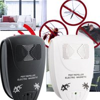 Compra Repeller Elettronico Del Ratto-Usa / EU Spina elettronica a raggi ultravioletti del mouse del ratto repellente Anti Mosquito Repeller Killer Roditore Pest Bug rifiuta Mole Mouse