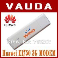 Wholesale Modem Adapter Sim - Wholesale- Huawei E1750 WCDMA 3G USB Wireless Modem Dongle Adapter SIM TF Card HSDPA EDGE GPRS Android System Support Free Shipping