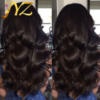 Big Body Wave Full Lace Wigs Peruvian Lace Front Wigs Bleached Knots Free Part Human Wave Hair Human Hair Wigs Lace Front Wig