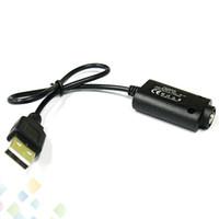 e w cigarrillos al por mayor-Cargador USB caliente de EGO para la batería electrónica del cigarrillo Ego-t Ego-c Cargador portátil de Ego-c E Cig USB con el envío libre de DHL