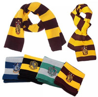 Wholesale Harry Potter Rings - Harry Potter Scarf Gryffindor College Scarf Slytherin Magical Animal Scarf