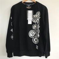 Wholesale New Coats Design For Boys - New Design Men Sweatshirt BOY LONDON Letters Print Crew Neck Jumper Hoodie For Men Black Loose Spring Autumn Pullovers Coat MSG0814