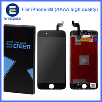 Wholesale Pixel High - AAAA High Quality No Dead Pixels For iphone 6S 4.7 inch Full LCD Display Digitizer Touch Panel Screen Assembly With Frame DHL Free Ship