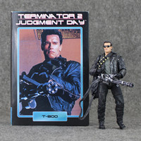 Wholesale Terminator Toys Wholesale - 17 cm Terminator 2 T-800 figurine pescadero Judgment Day hospital doll PVC model toy