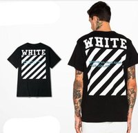 Wholesale OFF WHITE T Shirt Men YEEZUS Off White Kanye West Hip Hop Rap Black Cotton T Shirt Supremes Top Tees OFF WHITE T Shirt