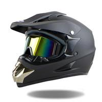 moto açık toptan satış-Toptan-2016 Kasko Capacetes Motokros Kask ATV Moto Kask Çapraz Yokuş Aşağı Off-road Motosiklet Kask NOKTA Ücretsiz Kargo