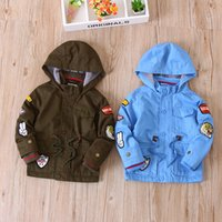 Wholesale Boy Winter Wool Coat - Everweekend Kids Boys Winter New Fashion Fur Wool Coats Boys Fleece Warm Outwears Jackets Children Boys Hooded Coats