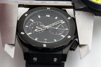 Wholesale Bang Sapphire - Classic luxury Big Bang 532999 series automatic mechanical 46mm black dial sapphire crystal fashion men's watch