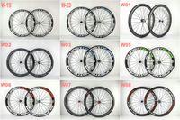 Wholesale 24 Inch Road Wheel Set - Custom Paint Buy Hot Sell SuperTeam 50MM carbon wheels Clincher Tubular Road wheelset hub spoke 20 24