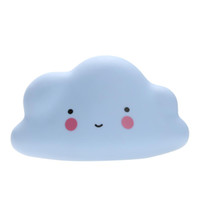 1 Pc Kids Novelty Cloud Face Night Light Lâmpada infantil Nursery Lâmpada Mini Cloud Lamp Brinquedo no quarto Quarto infantil Decorar