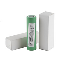 Wholesale Mod Batteries - 100% High Quality 25R 18650 INR Battery 2500mAh 3.7V 20A Rechargable Lithium Samsung Batteries Cell For E Cig Box Mod Fedex