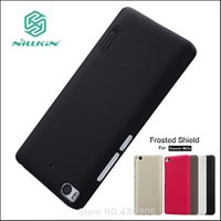 Wholesale Nillkin Screen Protector Wholesale - Wholesale- Original Nillkin For Xiaomi mi5s mi 5s Cover Hard Case Phone Shell Hight Quality Super Frosted Shield +Screen Protector