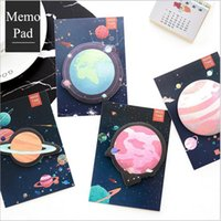Wholesale Portable Sticky Notes - Wholesale- 4 Pcs lot Sticky Notes Candy colors notebook Portable Memo Paper pad Post-It Bookmark Point It Marker Week plan Supplies 01902