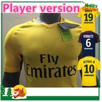 Wholesale Soccer Player Jersey - Player version 17 18 NEYMAR JR home away shirt T SILVA CAVANI DI MARIA PASTORE 2017 2018 Verratti Matuidi seasons custom jersey