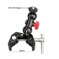 "Wholesale articulating clamp - CAMVATE Articulating Magic Super Clamp Crab Pliers Clip w 1 4"" 360° Ball Head Mount"