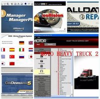 Wholesale Alldata Heavy Trucks - Alldata and mitchell ondemand software 2017 newest All data 10.53 + mitchell 2015 + heavy truck 49in1 with a 1000G hdd Free Shipping