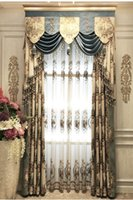 Wholesale Quality jacquard fashion luxury curtain