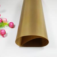 Wholesale Bbq Disposable - Wholesale- Excellent quality 60*40CM High Tempreture Resistant Cloth Baking Mat BBQ Sheet Anti-oil Fabric Baking Linoleum Reuse Oil Paper m