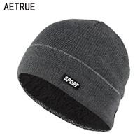 Wholesale Acrylic Balaclava - Winter Hat Beanies Skullies Knitted Hat Winter Hats For Men Women Brand Cap Skull Gorros Balaclava Bonnet Beanie Fleece New 2017