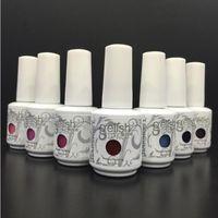 Wholesale Uv Gel Brands Nails - Gelish Gel Polish 15ml Polish UV Soak Off Nail Gel Base Coat Foundation & Top coat Lacquer Varnish 100% Brand Long-lasting 0101MU