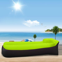 Wholesale New Arrival Camping Lazy Bag Inflatable Sleep Bag Air Sofa Laybag Sleeping Adult Beds Air Lounge Chair Fast Inflatable Couch