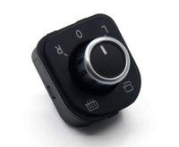 espejos vw jetta al por mayor-OEM lateral del cromo Espejo Interruptor Doble Botones de control para VW Passat B6 3C Golf GTI MK5 MK6 Jetta MK5 conejo Tiguan 5ND 959 565 A