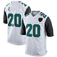 Wholesale Elite American Football - 2017 Mens 20 Jalen Ramsey Elite Football Jerseys American Men For Sport Fans Stitched Jersey Team Black White