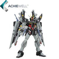 Wholesale Gundam Assembly Robots - New Brand DRAGON MOMOKO MG 1 100 Strike Noir Action Figure Anime Fighting am Robot Model Fan Collection Assembly Toys Gift