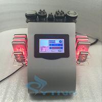 Wholesale Ultrasonic Liposuction Equipment Cavitation - 8pcs lipo laser pad RF radio frequency slimming Ultrasonic liposuction cavitation weight loss machine fat reduce cellulite removal equipment