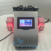 máquina de la radiofrecuencia de la cavitación gorda al por mayor-8 unids lipo laser pad RF radio frecuencia que adelgaza la liposucción ultrasónica cavitación máquina de pérdida de peso grasa reducir el equipo de eliminación de celulitis