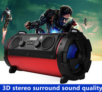 Wholesale Cheap Speakers Subwoofer - 2017 wholesale and retail high quality cheap outdoor portable Bluetooth speaker 15W subwoofer multi-function card microphone wireless speake