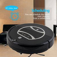 Wholesale Smart Robot Vacuum Cleaner IR Remote Control Built in mAh Battery