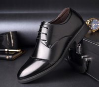 Wholesale Glitter Fabric Wedding Dresses - 2108 100% Genuine Leather Mens Dress Shoes, High Quality Oxford Shoes For Men, Lace-Up Business Men Shoes, Brand Men Wedding Shoes
