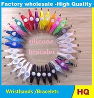 Wholesale Energy Band Retail - DHL FREE 500pcs 1LOT WRISTHANDS silicone energy bracelet band balance hands wristband S M L With Retail Boxes packing them yourself