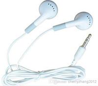 Wholesale Mini Hd Headphones - Fashion in-ear Earphone Headphone Earbuds For Cell phone iphone Samsung Mp3 Mp4 Mini HD headset Free Shipping