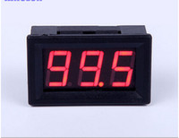 "Wholesale Voltmeter Wires - Wholesale-Mini 0.56"" Two Wires Digital Voltmeter Red LED Display DC4.5-30V Voltage Meter"
