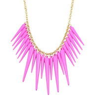 Wholesale Spike Punk Collar - New Punk Style Hot Sale Fashion Style Alloy Spike Collar Necklace