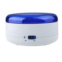 máquinas de limpeza de jóias venda por atacado-Atacado - bateria operado relógio de jóias Mini Ultrasonic Wave Cleaner máquina de limpeza Winder # 100718