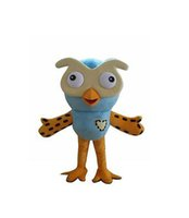 Wholesale Owl Mascot Cartoon - owl the hootable Mascot Costume custom cartoon character cosply adult size carnival costume fancy dress party kits 276
